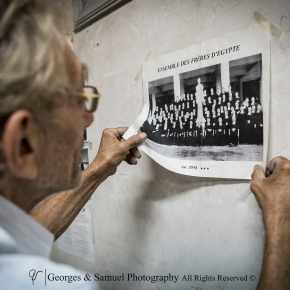 During his last days at the school, Robert takes down a picture that represents the group of the Lasallian Brothers in Egypt in 1956, realizing how much things have changed since they left. Many people worry about the principles & the morals of the school today in comparison to the fundamentals that the Brothers had previously instituted